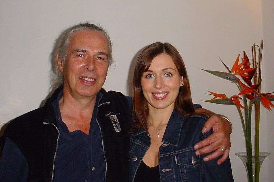 Lian Brook-Tyler with her father Robert, who died in 2012, aged just 62 (27217282)