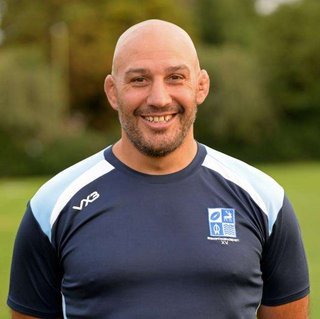 Bishops Stortford director of rugby Andy Long