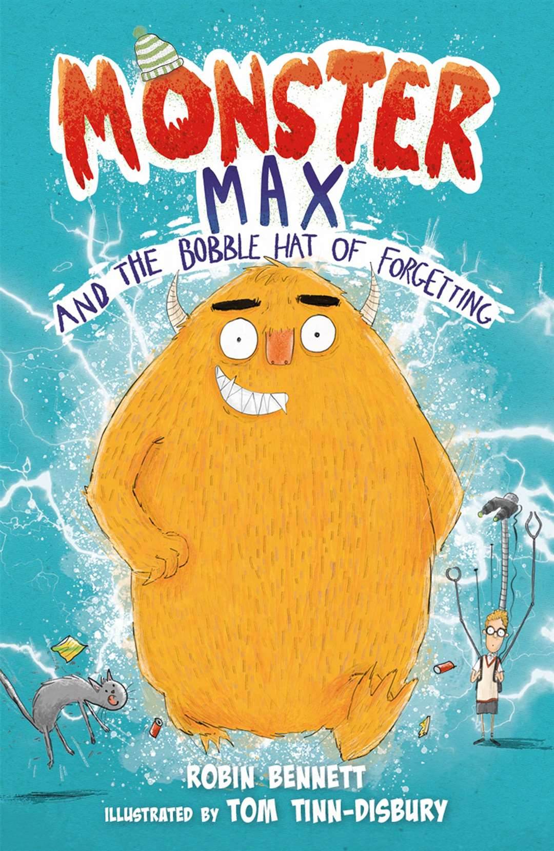 Monster Max and the Bobble Hat of Forgetting by Robin Bennett (43776188)