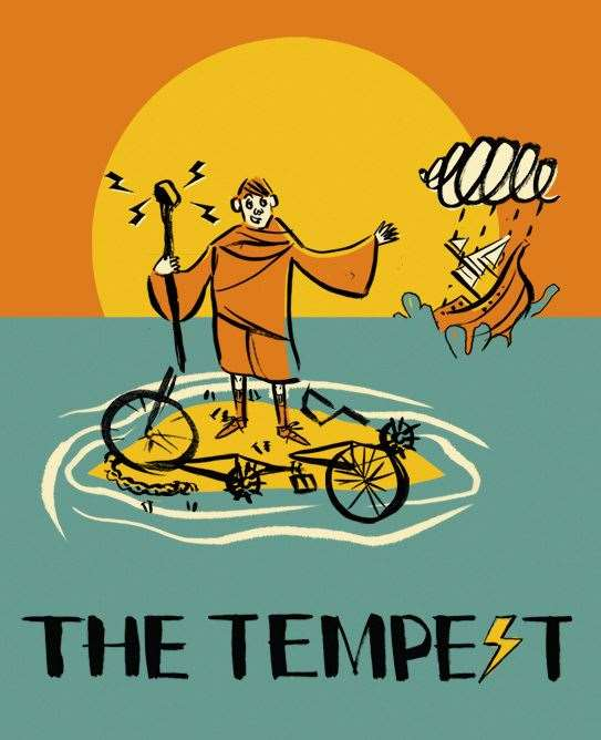 The HandleBards' all-female cast will be performing The Tempest at Rhodes on September 10 (15932222)