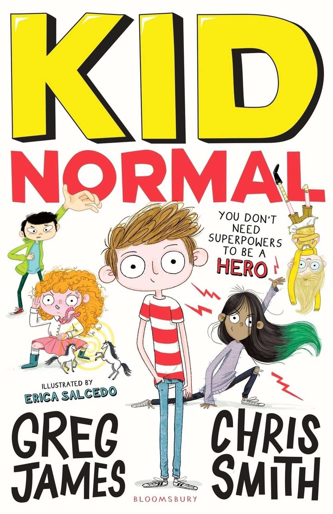 Greg James' and Chris Smith's book, Kid Normal