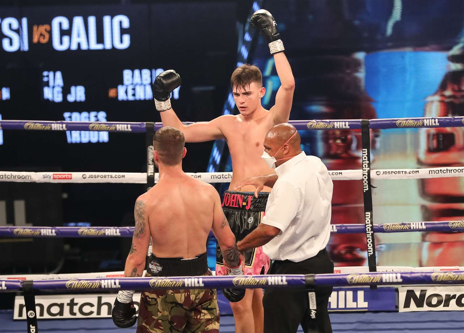 John Hedges beat Jan Ardon on his professional debut. Picture: Mark Robinson/Matchroom Boxing (42549221)