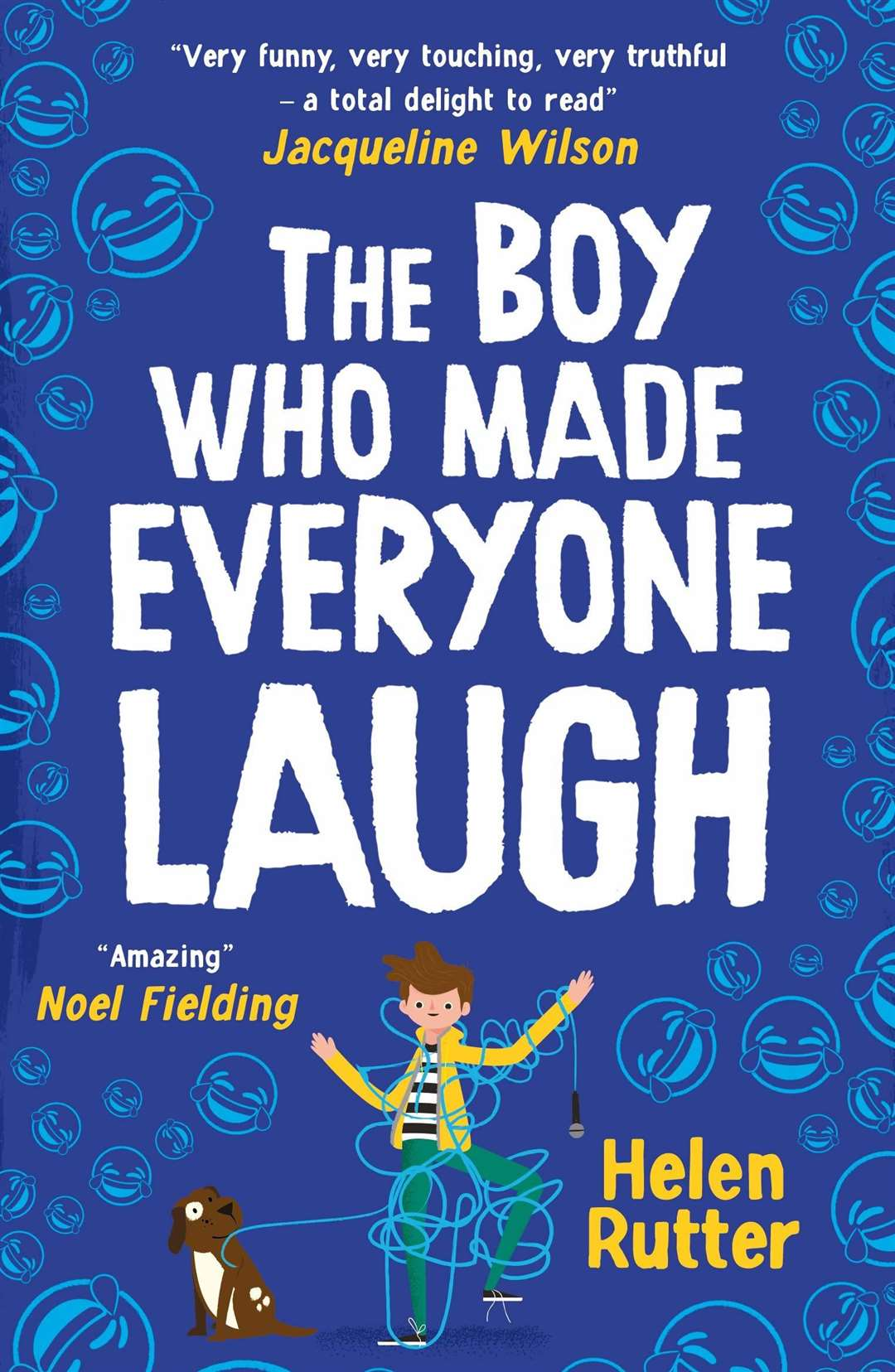 The Boy Who Made Everyone Laugh by Helen Rutter (45057024)