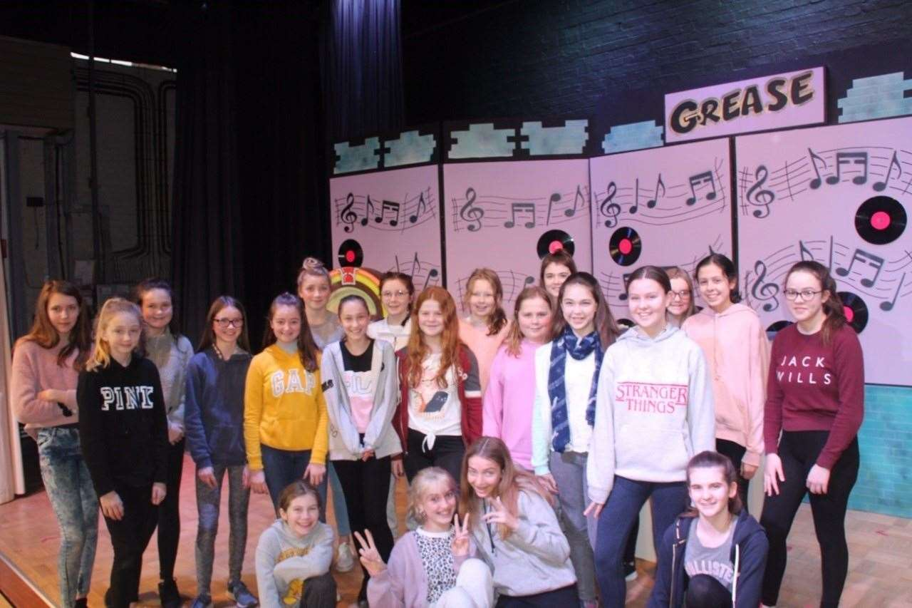 Rehearsals for Grease at Herts and Essex High School (26978381)