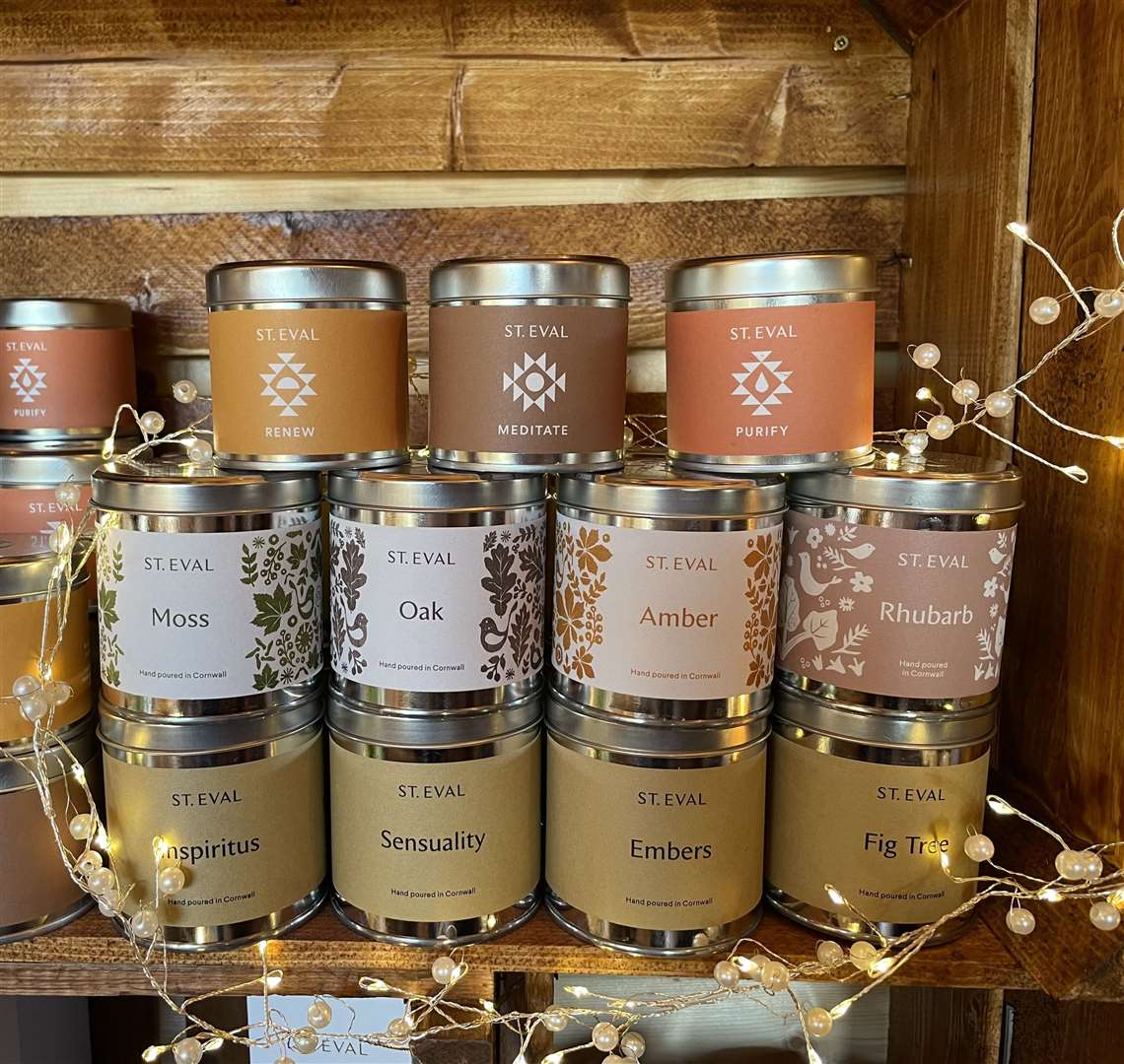 Candles from Folies' St Eval collection will give your home the perfect autumnal touch
