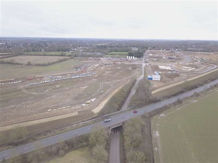 Stortford Fields development