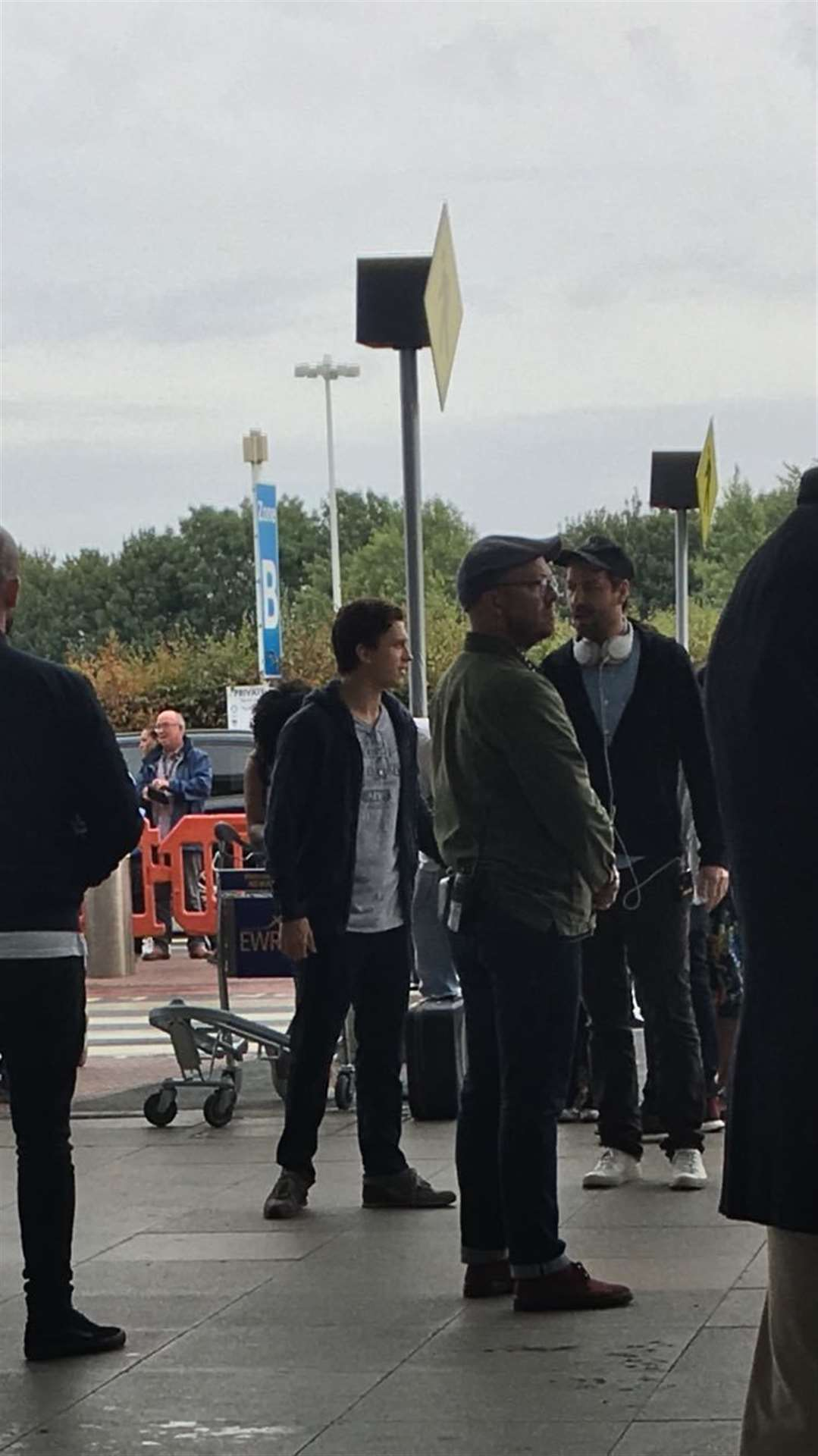 Spider-man star Tom Holland at Stansted Airport (13314618)