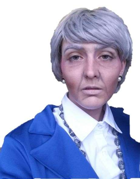 Amie Marie as Theresa May (44232156)