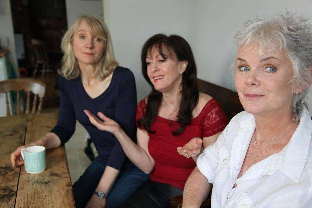 3 Menopausal Maids, from left, Lesley-Anne Webb, Carol Parradine and Sue Last. (8282472)