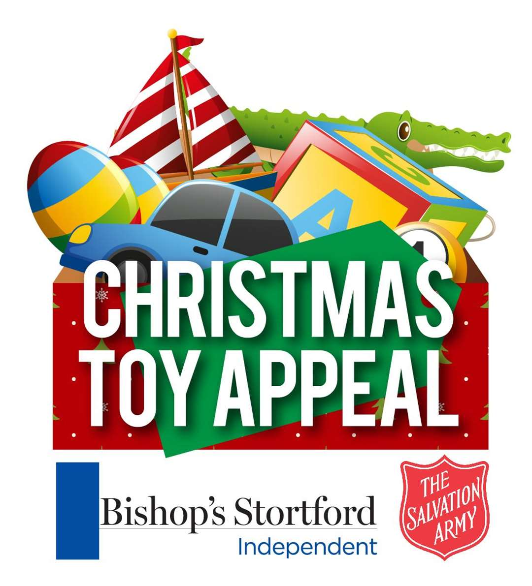 The Indie launched the Christmas Toy Appeal, in association with Bishop's Stortford Salvation Army, on November 25