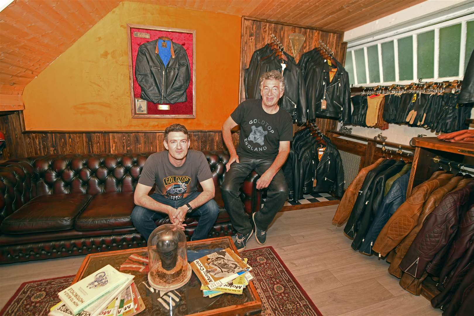Kevin (KC) Cullen and his son Joe at their new store in Gipsy Lane, Bishop's Stortford. Picture: Vikki Lince