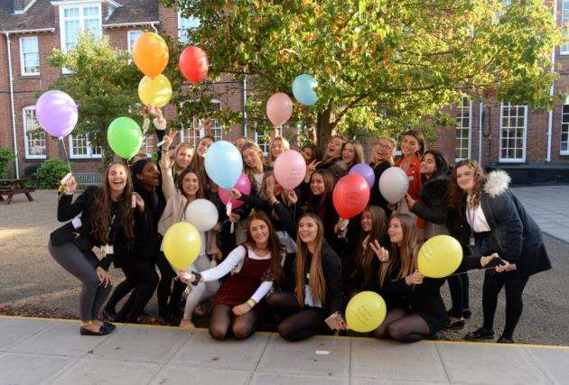 17 of Addies friends at Herts and Essex High School released 17 balloons on her 17th birthday in her memory