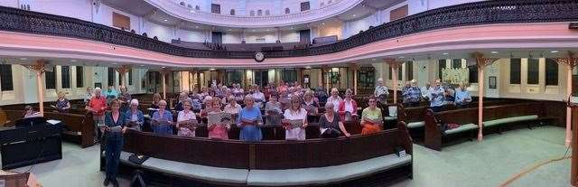 Bishop's Stortford Choral Society resumes rehearsals (51174896)