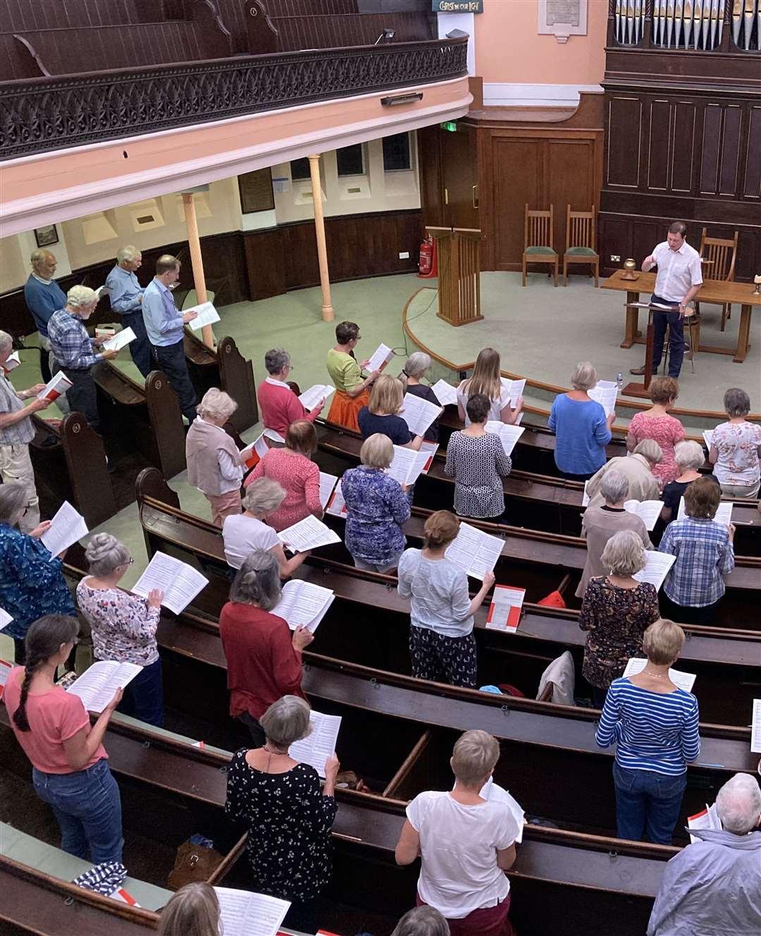Bishop's Stortford Choral Society resumes rehearsals (51174886)