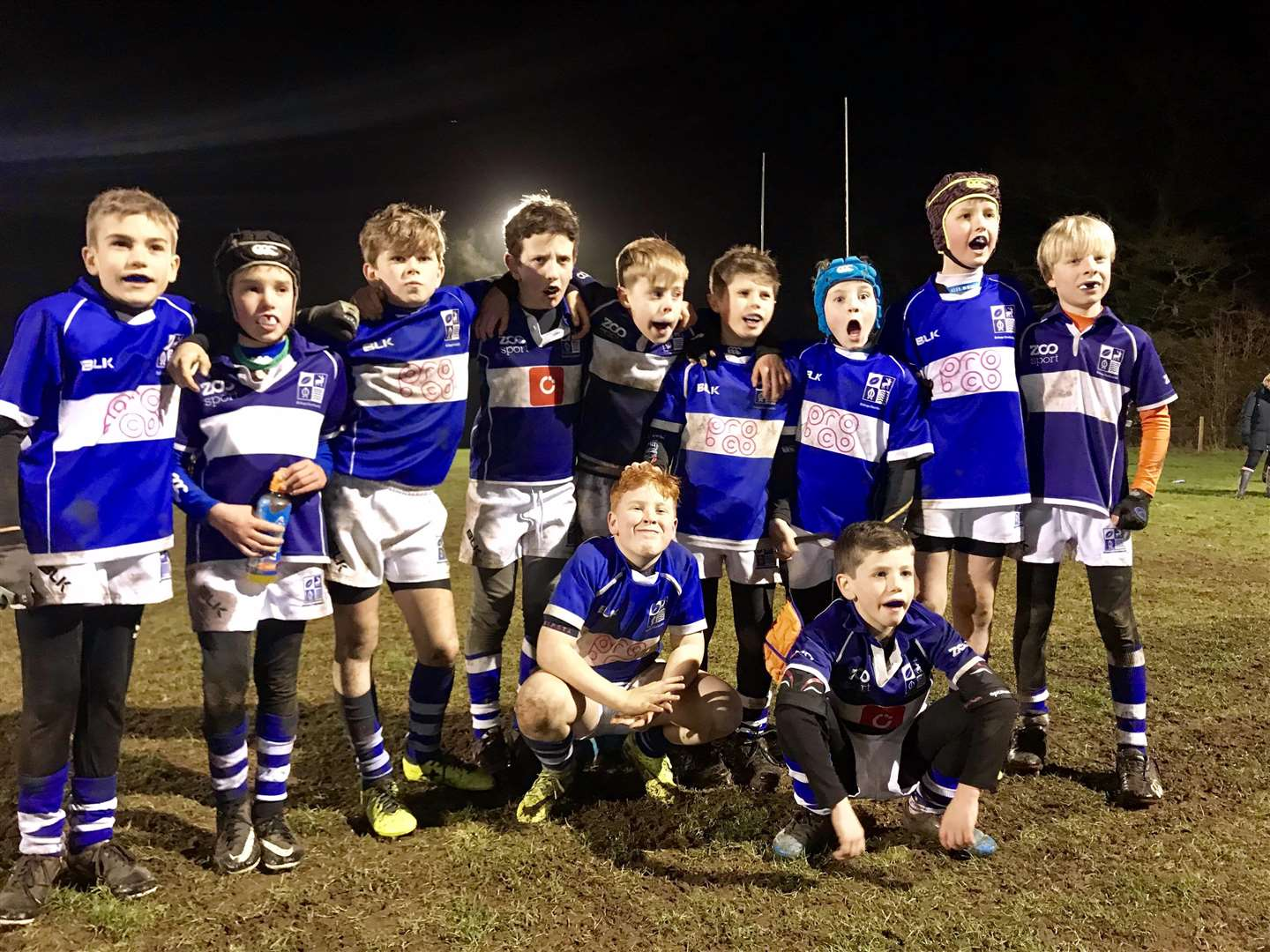 Bishop's Stortford rugby club held its first ever minis floodlight festival. (7957980)