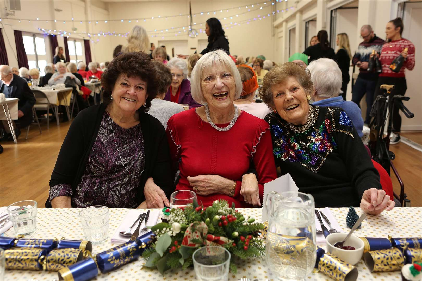 The Welbeloved Club Christmas Lunch at Sawbridgeworth Memorial Hall, The Forebury, Sawbridgeworth, CM21 9BD.. (43124362)