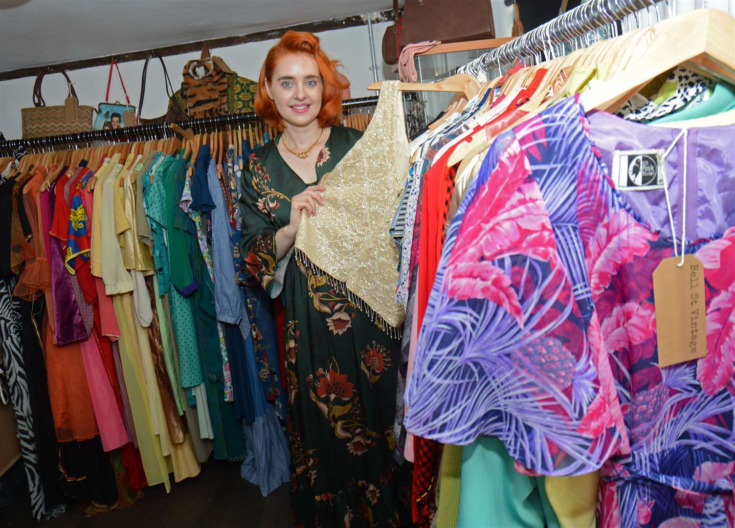 Bell Street, Sawbridgeworth.New shop - Bell St Vintage is opening. Owner Jo West. .Pic: Vikki Lince. (15767258)