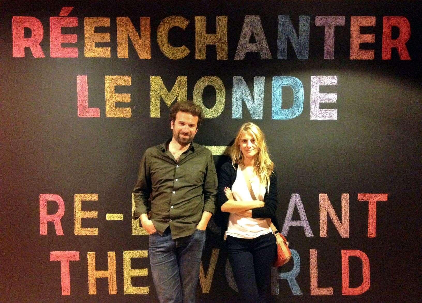 French Makers of Tomorrow, Cyril Dion, écrivain et militant, et Mélanie Laurent, comédienne et chanteuse