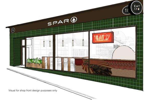 The proposed design of the Eat 17 store in Potter Street