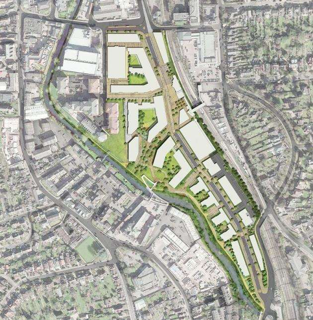 Solums masterplan for Bishops Stortfords Goods Yard