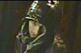 A CCTV image of the man police want to speak to about two attempted robberies in Bishop's Stortford (6209125)