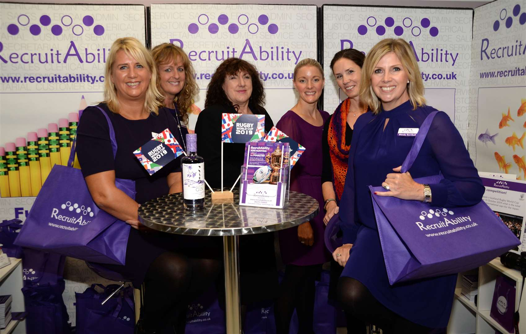 The Recruitability team at last year's BSMB. Picture: Vikki Lince