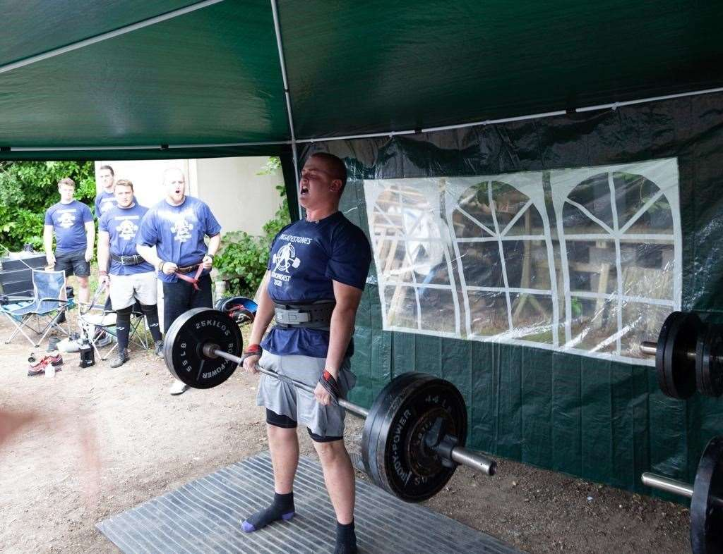 Alfie Poyser competing in Ingatestone's Strongest (42527461)