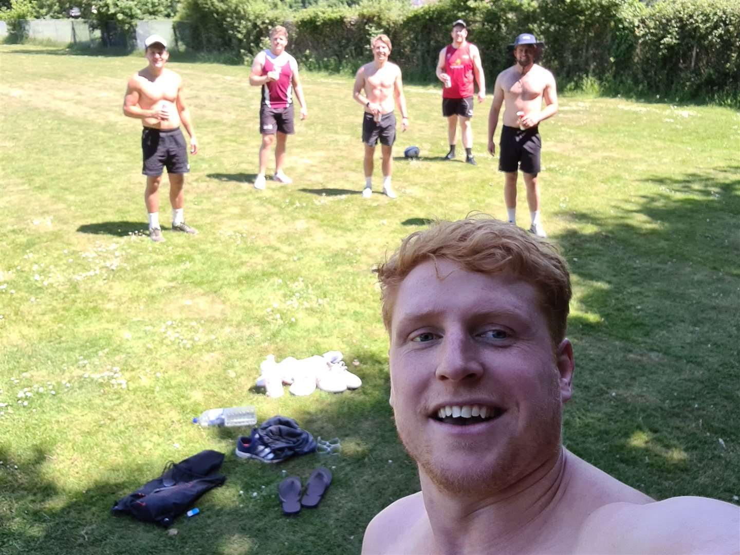 Sam Winter training selfie (37452472)