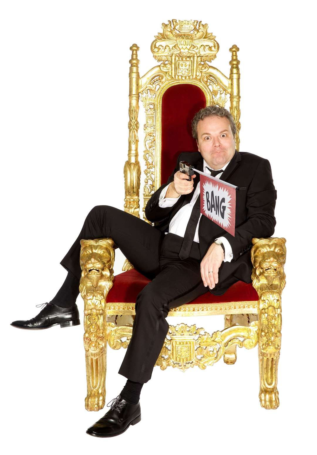 In 2019 Hal Cruttenden embarked on a 48-date, eight-month tour of the UK entitled Chubster – his teenage daughters chose the name (26266811)