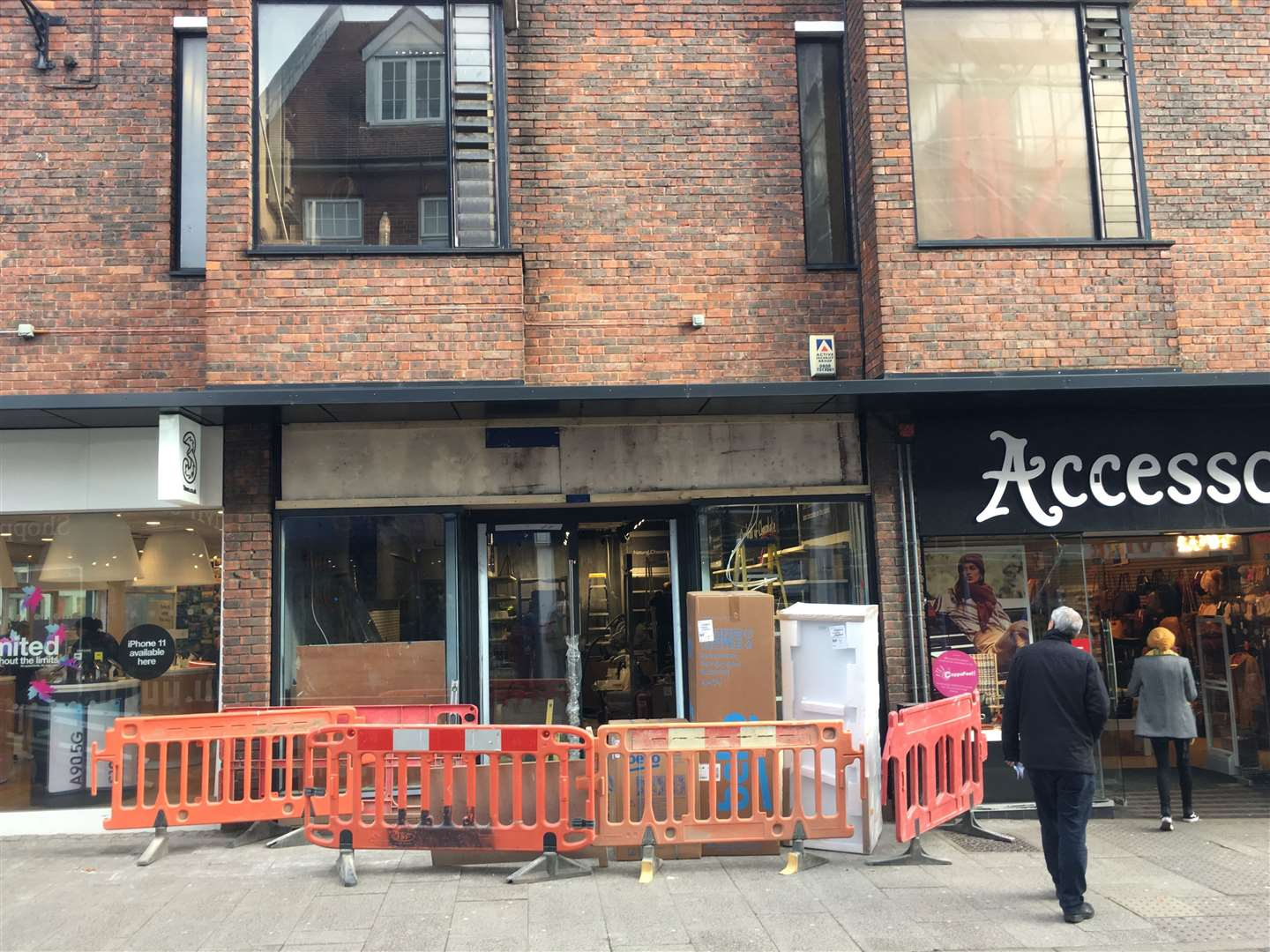Work is underway to get Hotel Chocolat ready for its November 2019 opening in Bishop's Stortford