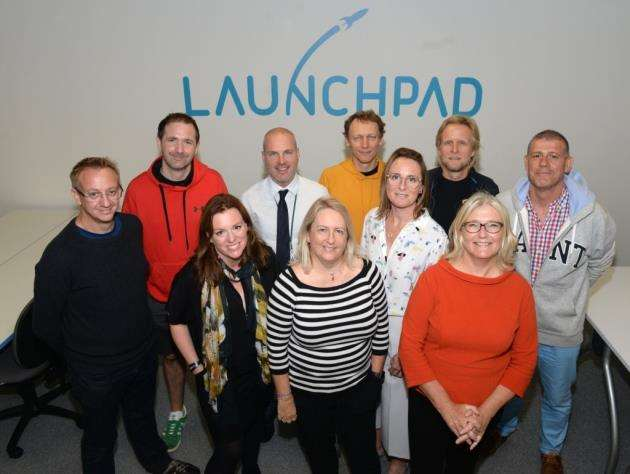 Managers and clients of Launchpad, the business co-working space at Charringtons House in the heart of Bishops Stortford Picture: Vikki Lince