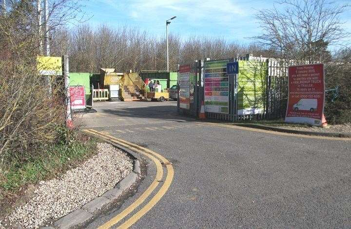 Bishop's Stortford's household waste recycling centre in Woodside (42647358)