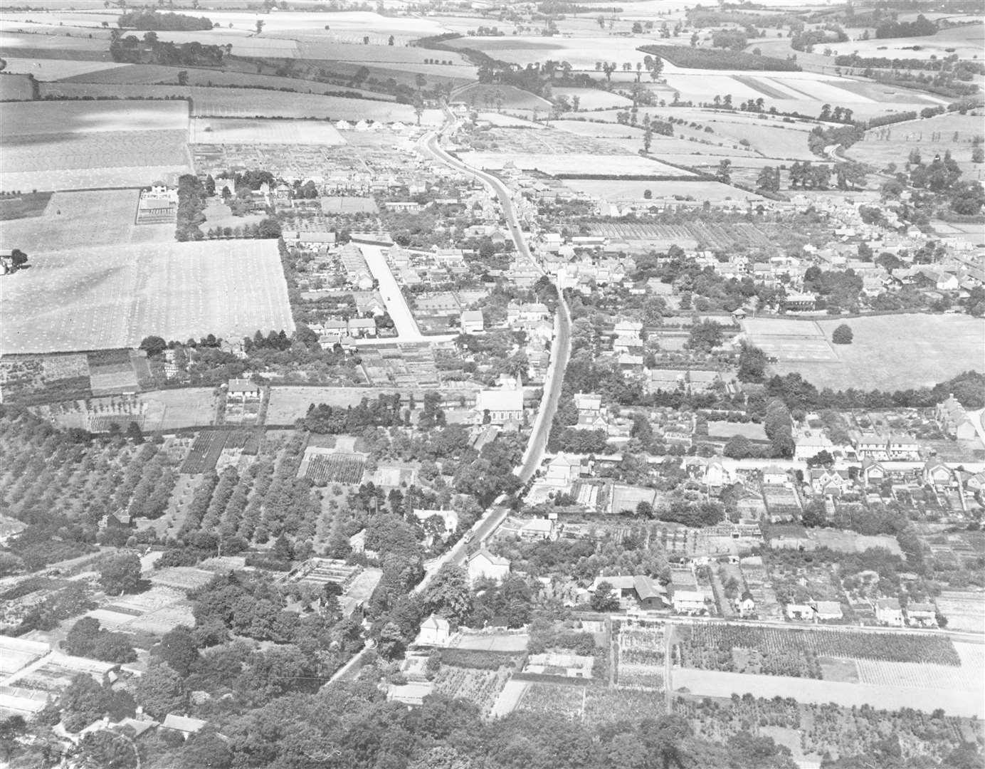 Sawbridgeworth in 1929 Credit: Historic England