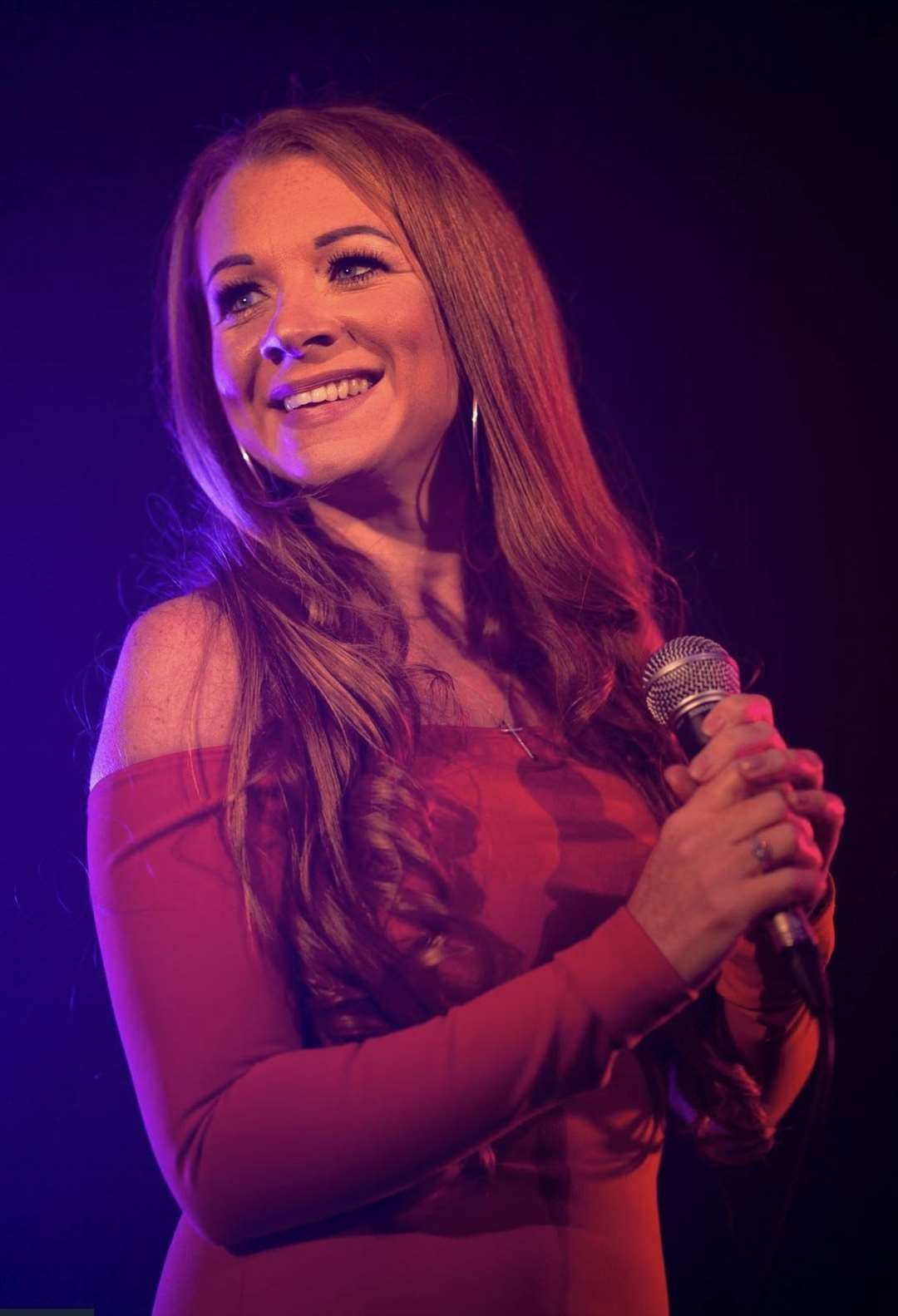 Amy Fleckney at her live medium show in Harlow Feb 2020 (44368186)