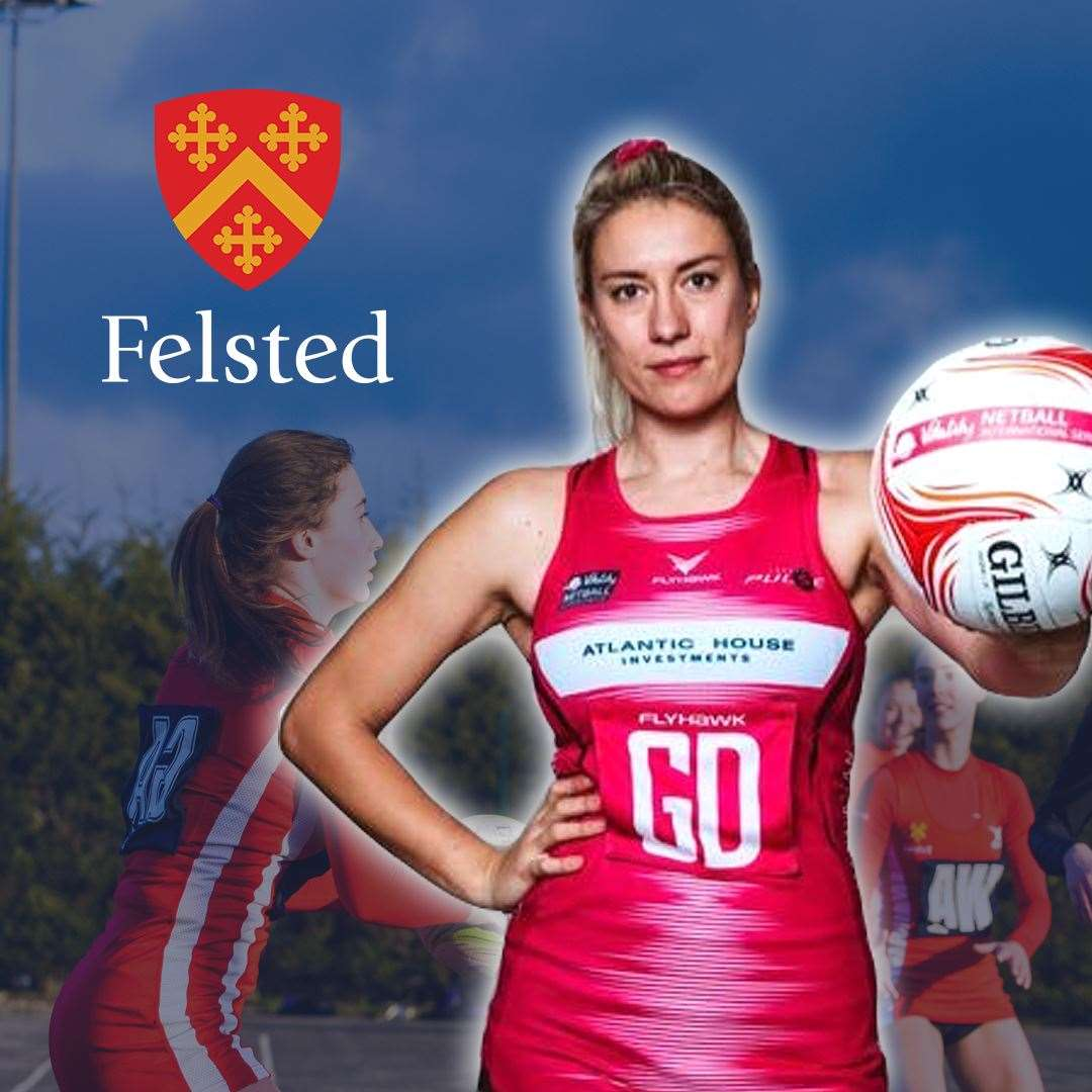 Feslted School's head of netball and London Pulse player Lindsay Keable is holding two online masterclasses (45274154)