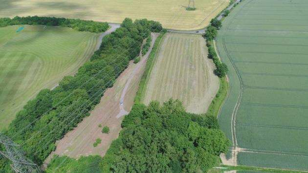 A birds-eye view of Jobbers Wood