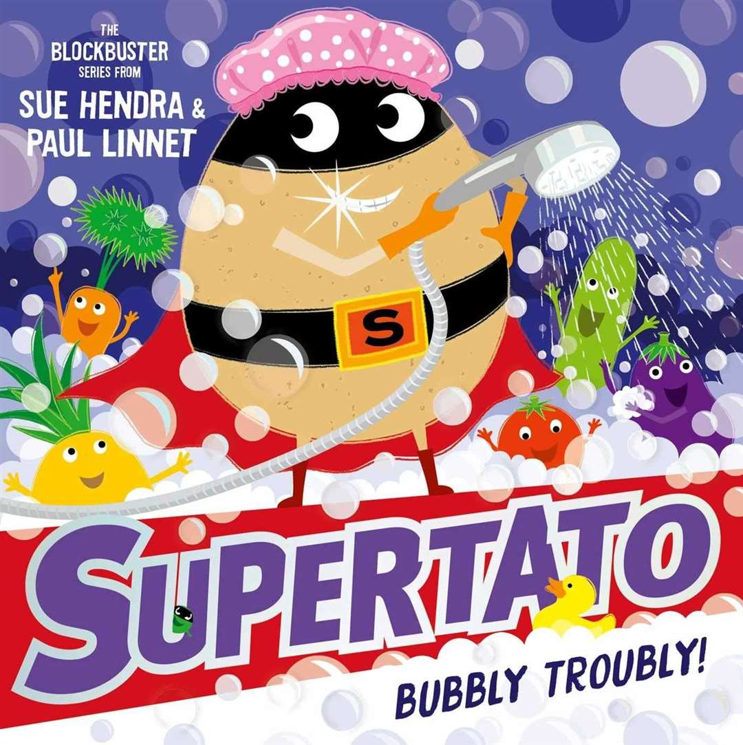 Supertato Bubbly Troubly by Sue Hendra and Paul Linnet (45057057)