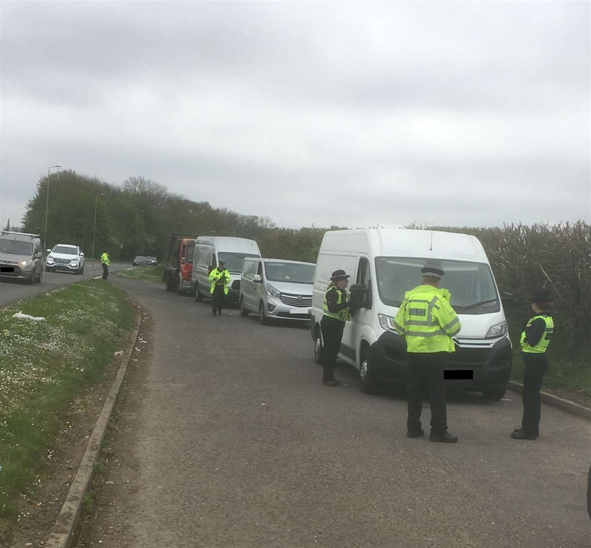 230 Drivers Stopped Between Stortford And Sawbridgeworth