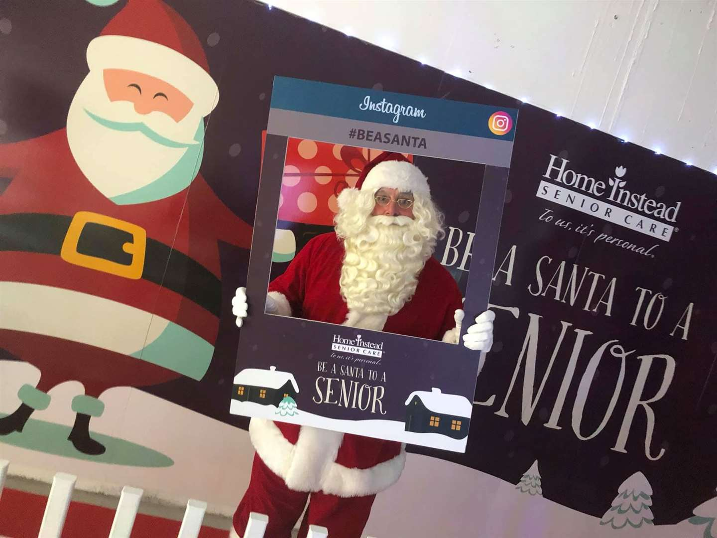 This is the seventh year of Be a Santa To a Senior (42874151)