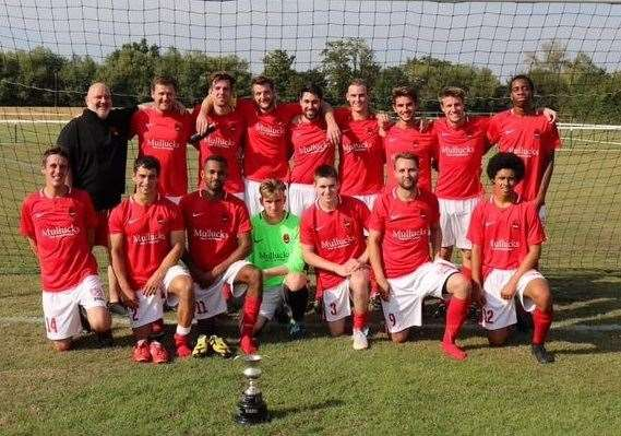 Bishop's Stortford Swifts won the Essex Intermediate League Senior Challenge Cup (15775373)