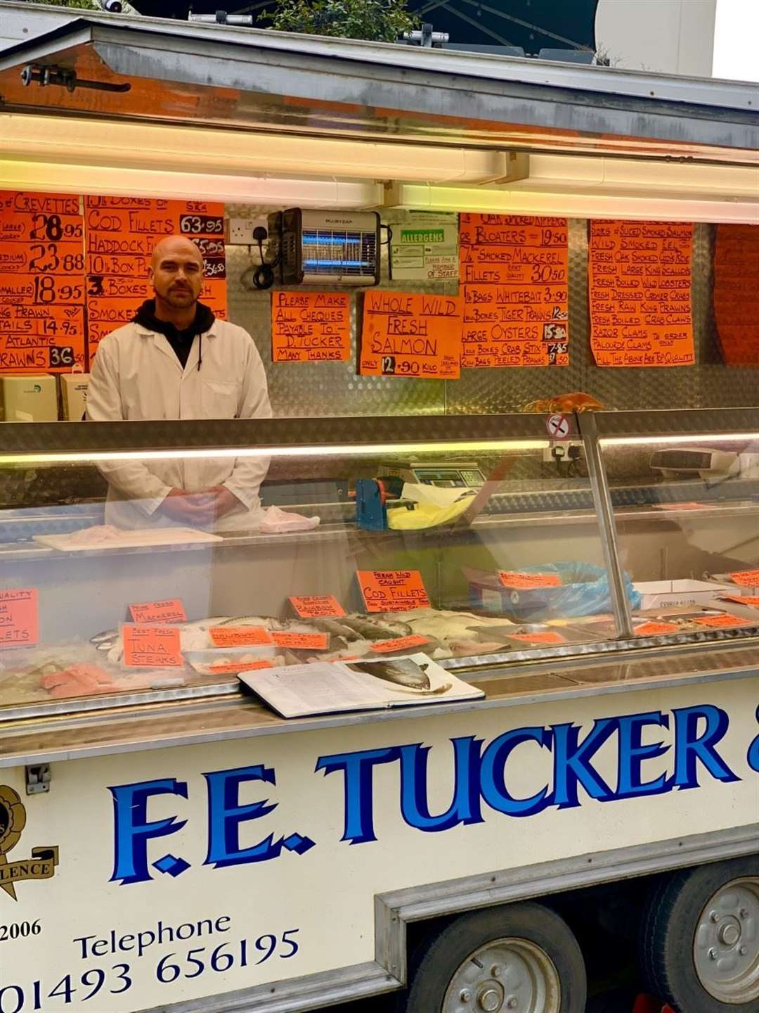 The F.E. Tucker and Sons mobile fish van visits Bishop's Stortford every Thursday, Friday and Saturday (34776947)
