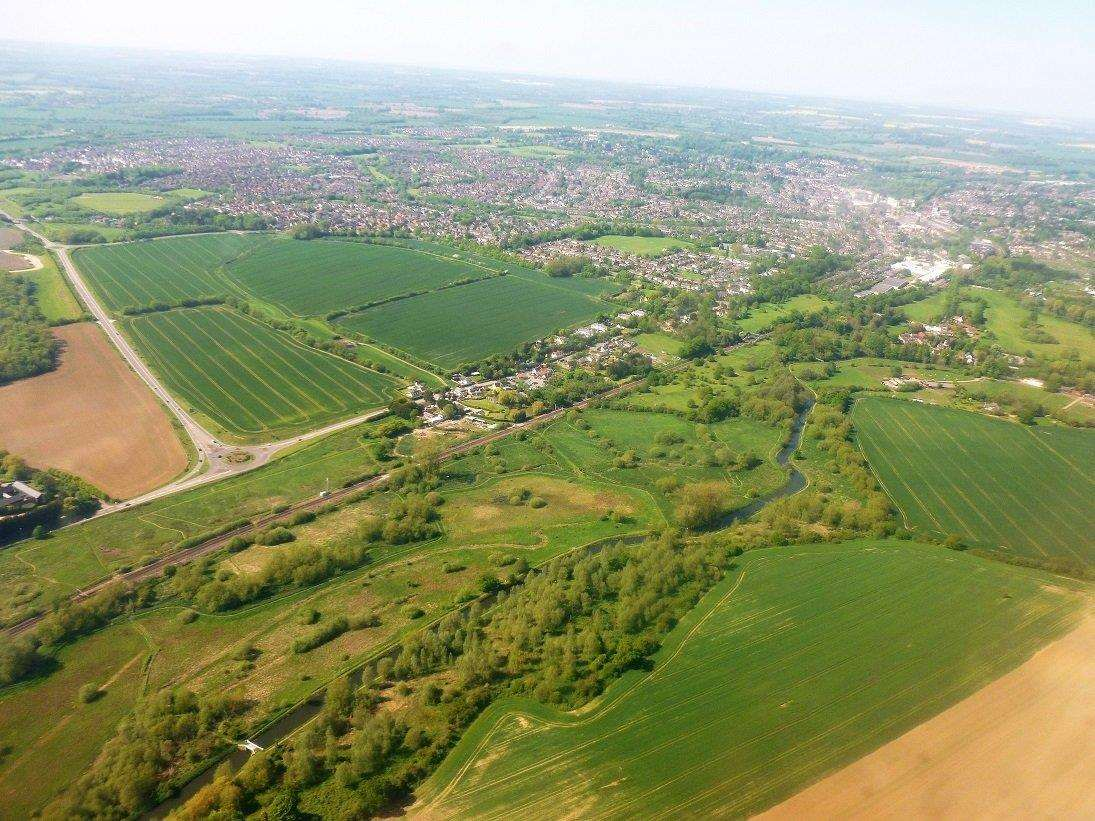 Aerial view of Stortford South. (7575842)