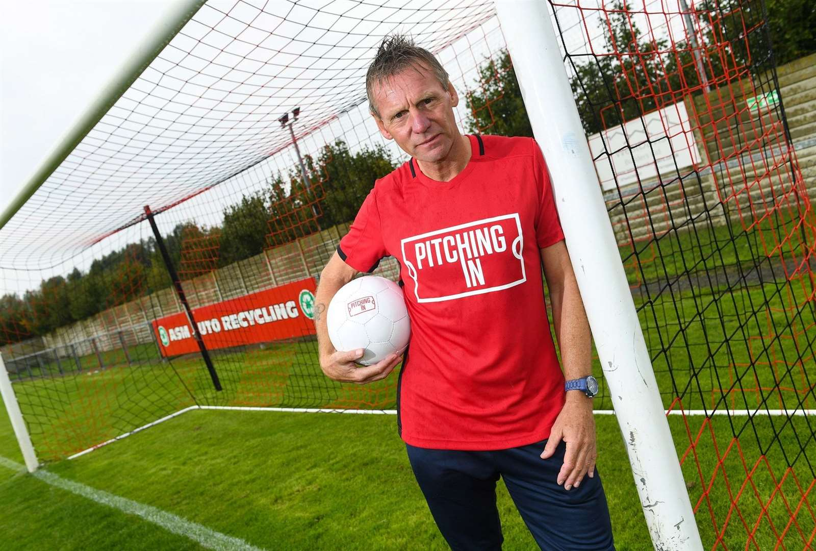 Former England defender and Pitching In ambassador Stuart Pearce. Picture: Doug Peters/PA Wire
