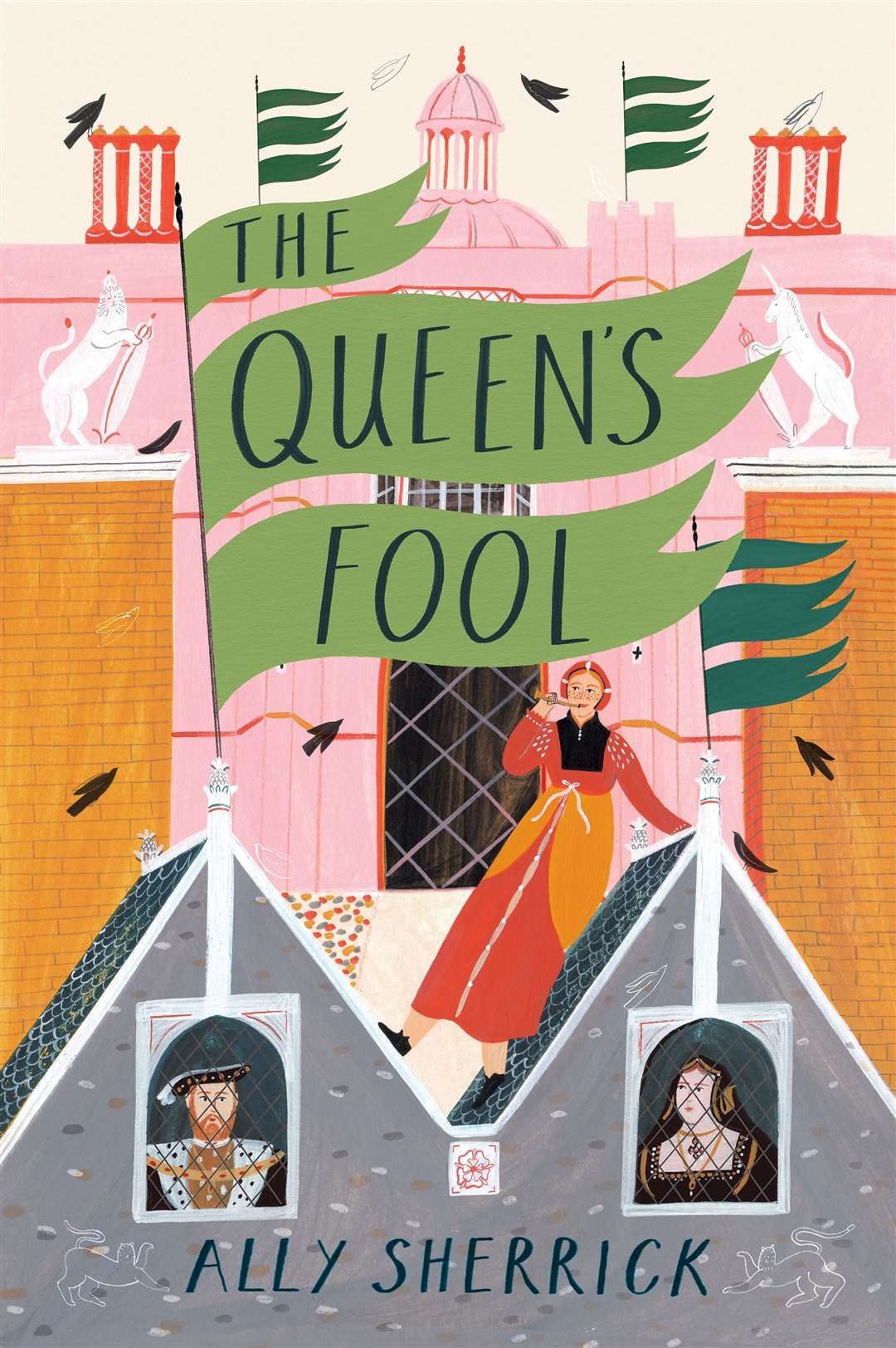 The Queen's Fool by Ally Sherrick(43776186)