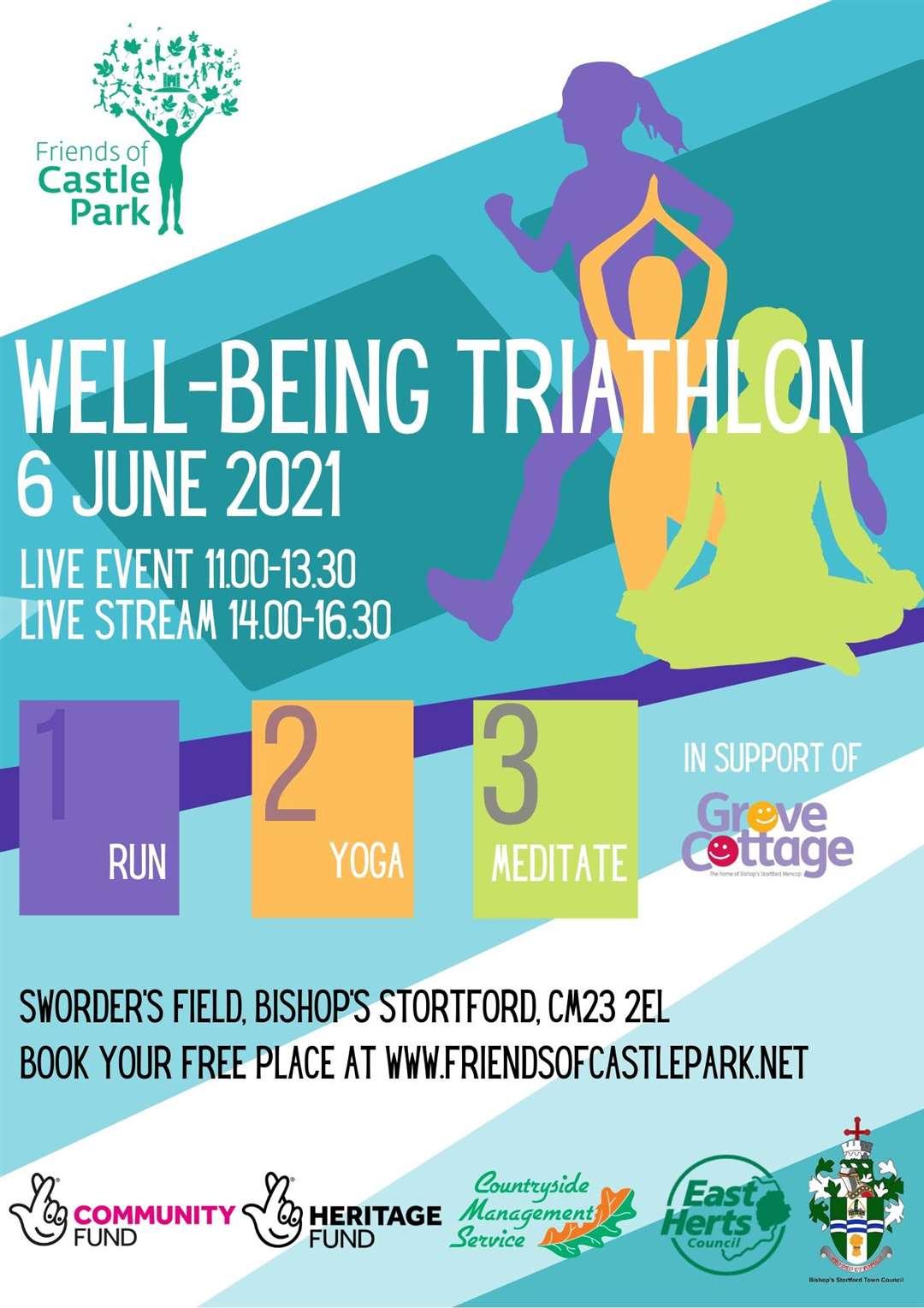 Well-being Triathlon (47379589)