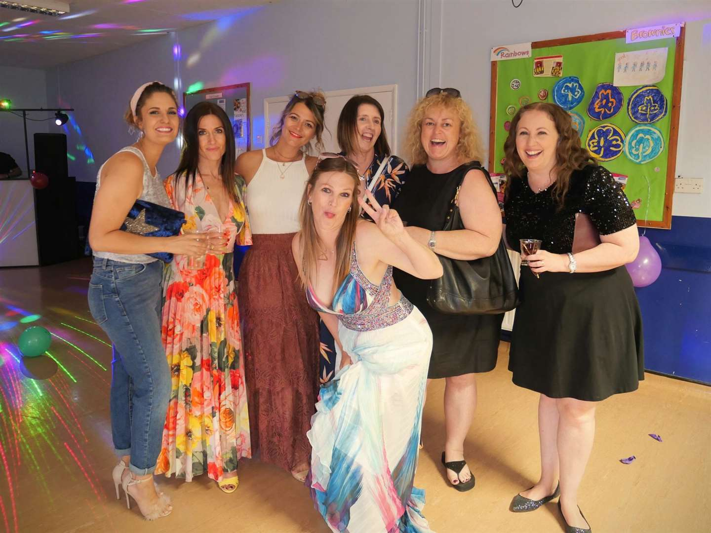 Beth Purvis on her 40th birthday, just two years ago, with friends, from left, Rachel Roberts, Madeleine Sanders, Lisa Menzella, Karen Tait, Darian Compton and Emma Stevens (48887736)