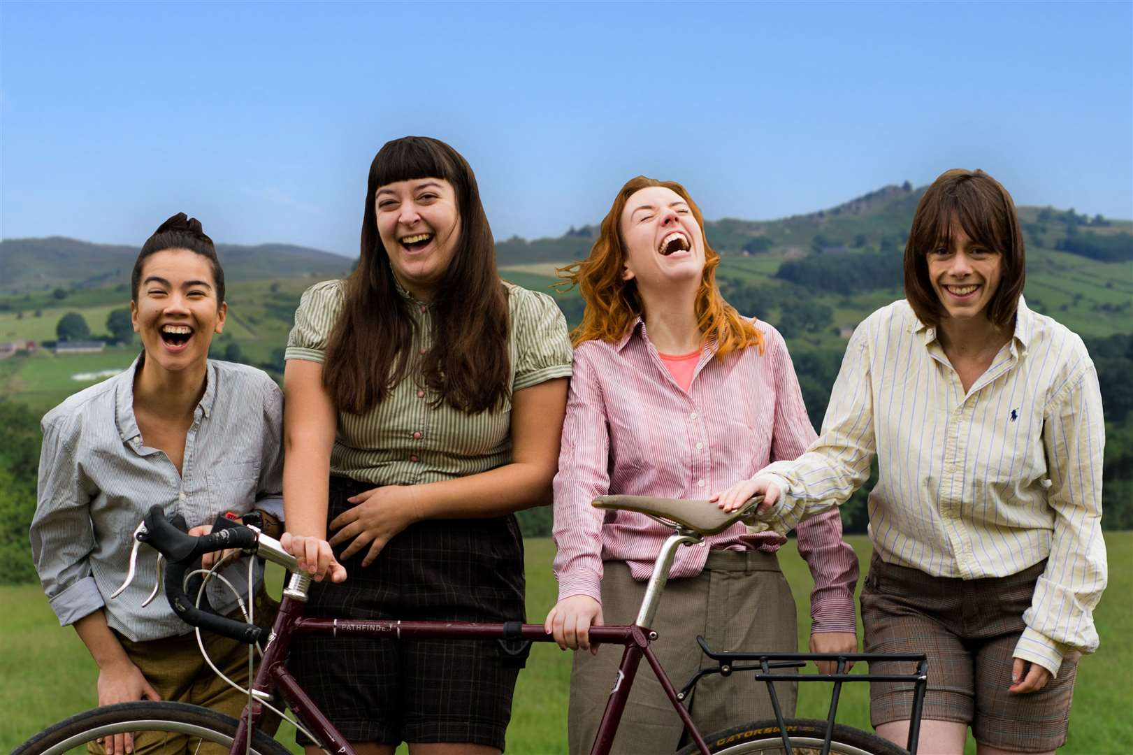 The HandleBards' all-female cast will be performing The Tempest at Rhodes on September 10 (15932205)