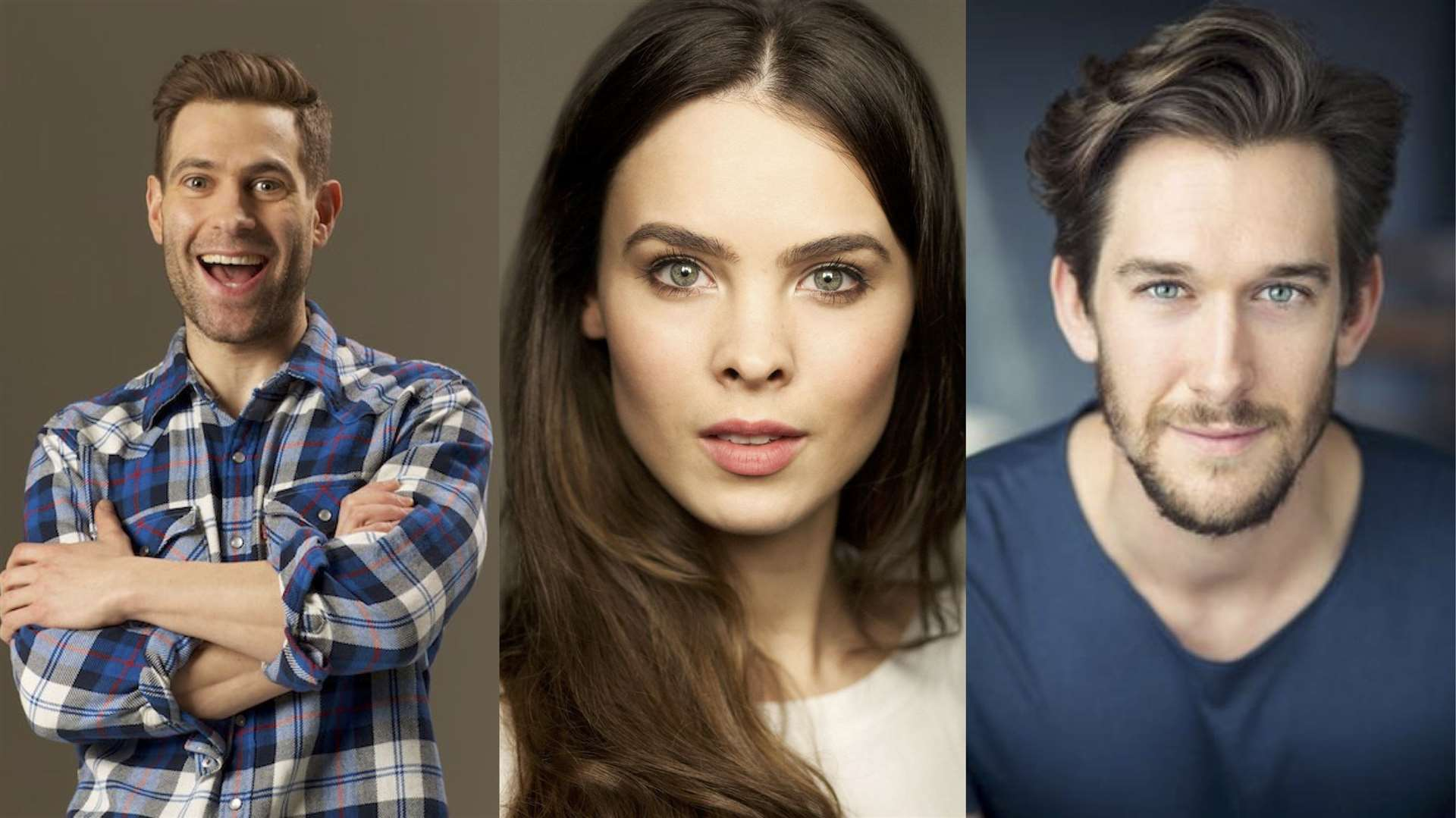 Theatre in the Fields' headliners: Simon Brodkin, Jessamy Stoddart and Oliver Savile (13442902)