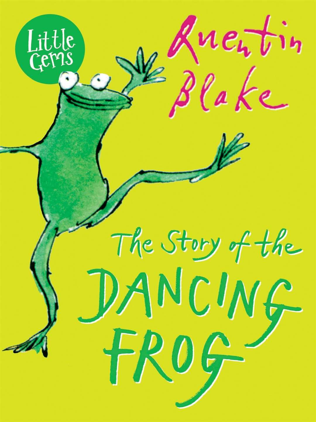 The Story of the Dancing Frog by Quentin Blake (42617227)