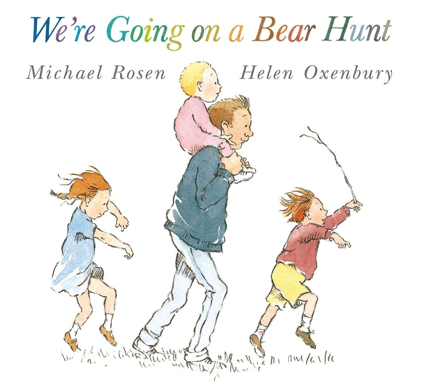 We're Going On A Bear Hunt by Michael Rosen and Helen Oxenbury (39035245)